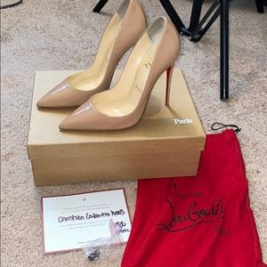AUTHENIC Christian Louboutin So Kate Heels